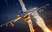 مهارت فوق العاده خلبان جت جنگنده در پرتاب فلر