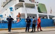 جلوگیری از واژگونی و غرق شدن کشتی در بندر خرمشهر