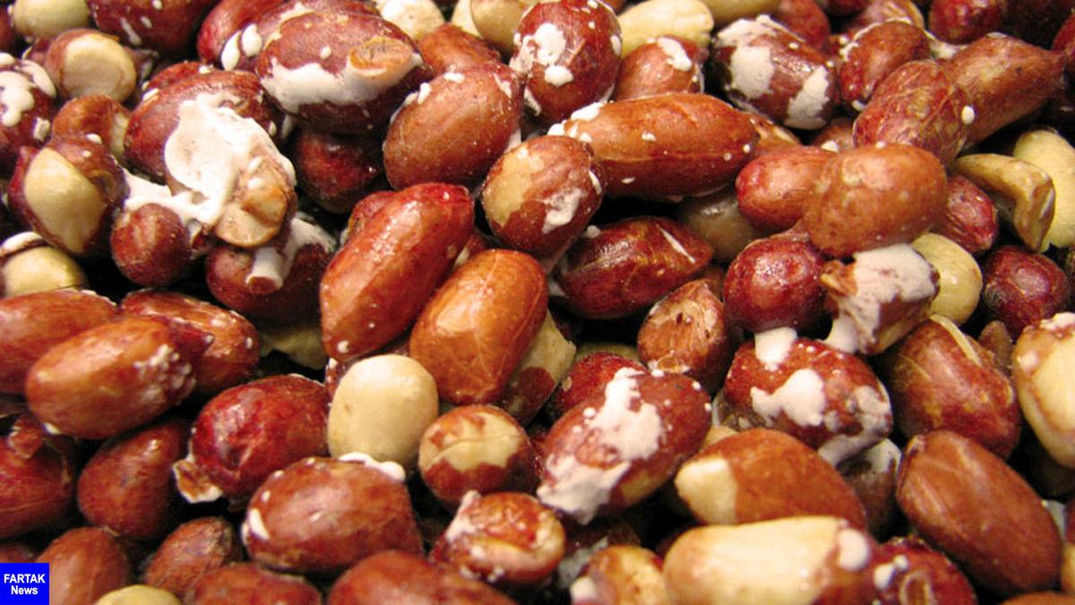 کاهش وزن با خوردن بادام زمینی