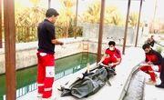 غرق شدن پسر بچه ۱۶ ساله در استخر آب