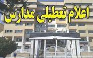 تمام مدارس و دانشگاههای خراسان جنوبی تعطیل شد