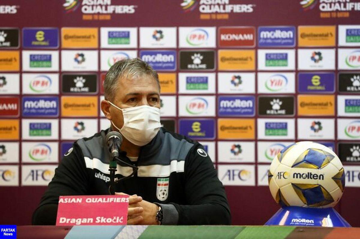 اسکوچیچ: نمی دانم انتظارات از تیم ملی چیست/ از ۱۰ مسابقه نمی توانم در ۱۲ بازی برنده باشم!