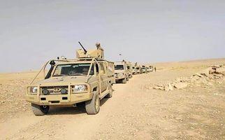 فیلمی از کمین حشدالشعبی بر سر راه تروریستهای داعش