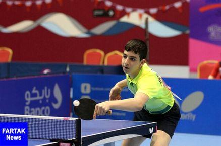 کسب دو مدال  در مسابقات بین المللی تنیس روی میز بحرین