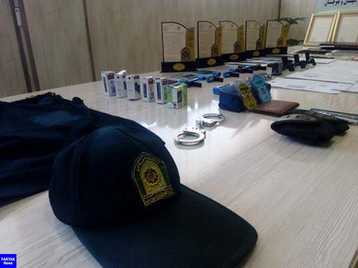 دستگیری باند مأموران قلابی ۱۰میلیاردی