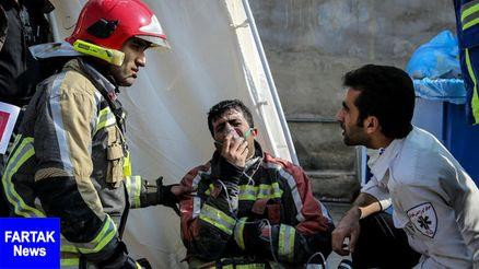 ۲۰۲ نفر در حادثه پلاسکو تحت درمان قرار گرفتند