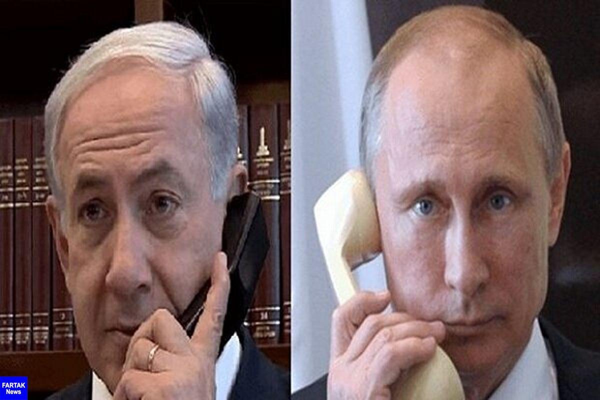 گفتگو تلفنی پوتین و نتانیاهو درباره تحولات مربوط به غرب آسیا
