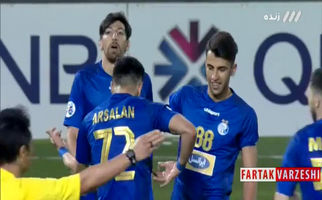 گل پنجم استقلال به الریان توسط ارسلان مطهری+فیلم