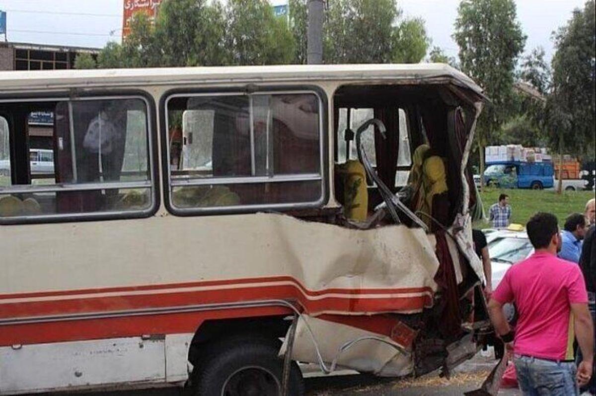 7 مصدوم در تصادف جاده اهواز-خرمشهر