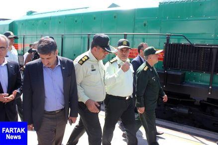 توقیف مرسولههای پستی قاچاق توسط پلیس راه آهن