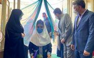 نواخته شدن زنگ شکوفهها در مدارس کرمانشاه