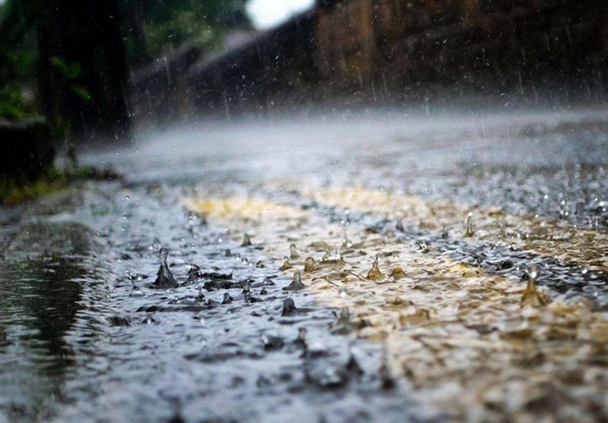 پیش بینی آب و هوا/بارش ۵ روزه باران در برخی استانها