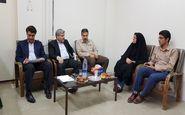 ملاقات مردمی قبادیان مدیر مخابرات منطقه در ناحیه شمالی مخابرات کرمانشاه