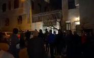 فیلم/ حضور پرسپولیسیها مقابل منزل مهرداد میناوند