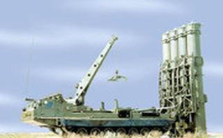 لحظه نابودی موشک اسرائیلی توسط اس۳۰۰ روسی