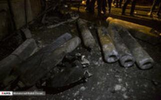 تصاویری از داخل کلینیک سینا اطهر که دیشب دچار انفجار و آتش سوزی شد