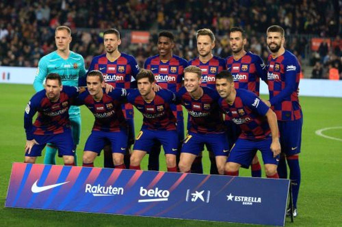 ترکیب اصلی بارسلونا مقابل وایادولید اعلام شد