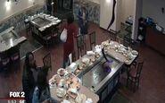 فرار دزدکی مشتریان پس از صرف غذا در رستوران!