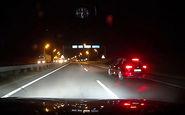 تصادف خودروی شاسی بلند با کامیون + فیلم
