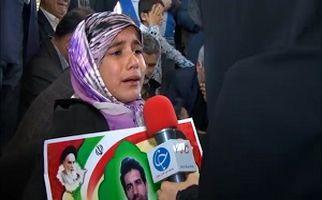 گزارشی تکان دهنده از بازماندگان شهدای حادثه تروریست خاش + فیلم
