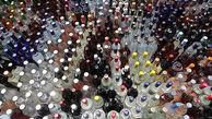 کشف ۵۹ بطری مشروبات الکلی از قوطی های دلستر در ورامین