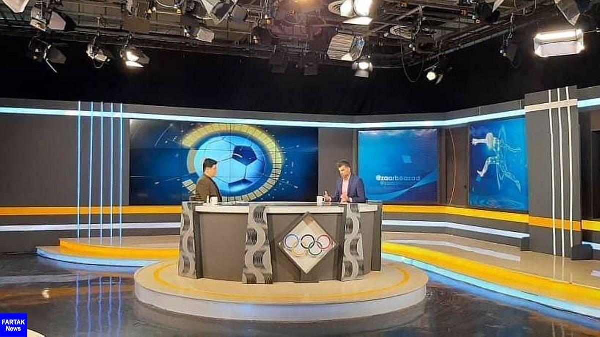 رحمان رضایی در استودیو ضربه آزاد اصفهان