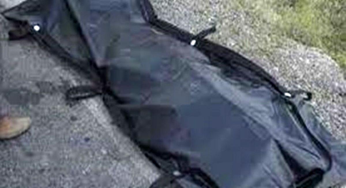 جسد دست و پا بسته مرد جوان در صندلی عقب پراید