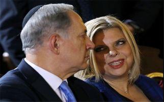 رفتار زشت همسر نتانیاهو درسفر به اوکراین + فیلم