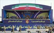 رژه یگانهای نمونه نیروهای مسلح در حرم امام خمینی (ره)