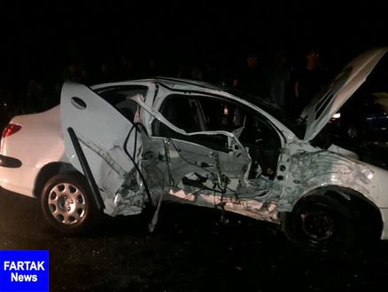 یک کشته و ۵ مصدوم در تصادف جاده اراک - فرمهین