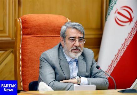 وزیر کشور:دشمن با اعمال فشار اقتصادی به دنبال ایجاد مشکل برای نظام بود
