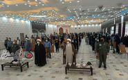 گردهمایی و همایش سیاسی ویژه رای اولی ها در پایگاه هوانیروز کرمانشاه