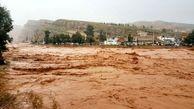 سیل پل ارتباطی ۴ روستا را در هشترود تخریب کرد