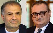 سفیر ایران در مسکو با یک مقام روس دیدار کرد