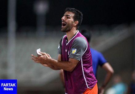 کاپیتان تیم فوتبال سایپا: شکست دادن تیمی مثل نساجی آسان نبود