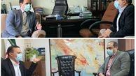 دیدار استاندار ایلام با معاون وزیر کشور