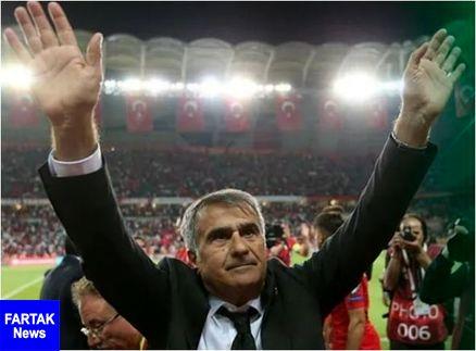 سرمربی تیم ملی ترکیه:عالی کار کردیم، خدا هم کمک کرد