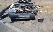 یک کشته و ۵ مصدوم در تصادف جاده اردبیل به آستارا
