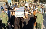 مراسم وداع با شهدای گمنام امشب در یزد برگزار شد