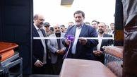 پایگاه اورژانس هوایی قزوین افتتاح شد