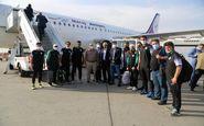 تیم فوتبال ذوب آهن، وارد  مشهد مقدس شد