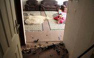 انفجار گاز در ساختمان مسکونی در سنندج / تصاویر