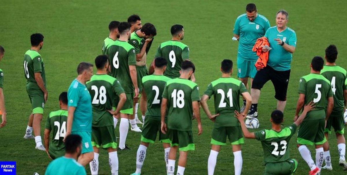 از بازیکنان تیم ملی فوتبال قبل از بازی با بحرین تست PCR گرفته شد