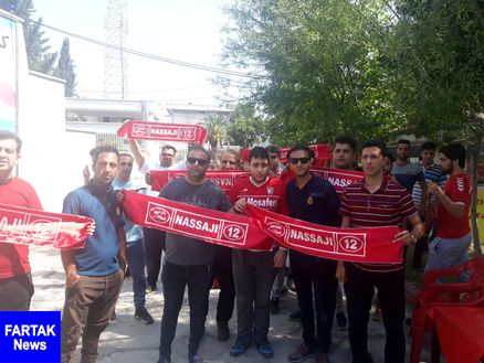 تجمع اعتراضآمیز هواداران نساجی مقابل استانداری