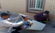 نجات کودک ۴ ساله فهرجی از داخل ماشین لباسشویی