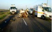 حادثه رانندگی در خوزستان 4 کشته و 3 مجروح برجای گذاشت