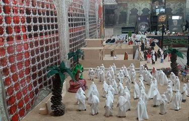 گزارش تصویری آیین افتتاح نمایشگاه تجسمی