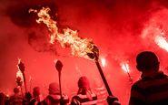 عکس منتخب نشنال جئوگرافیک | مشعل های سرخ