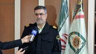 عربده کش میدان غدیر کرمانشاه حین قدرت نمایی دستگیر شد