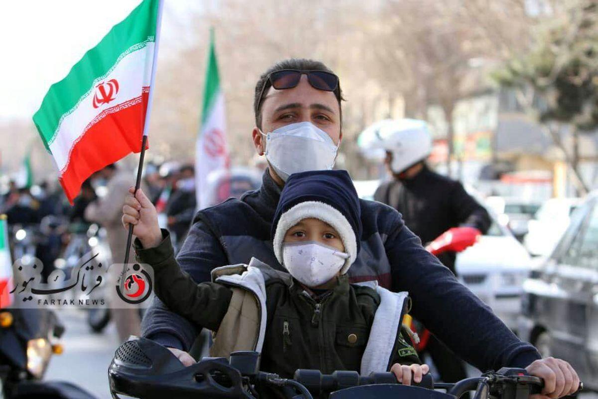 اختصاصی/گزارش تصویری از حضور مردم در راهپیمایی اصفهان